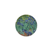 Vincent van Gogh - Irises Mini Button