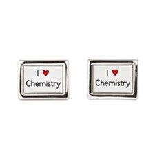 I Love Chemistry Cufflinks