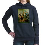 8x10-Spirit76-Airedale6.PNG Hooded Sweatshirt