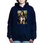 5.5x7.5-Mona-AussieTRI-PAIR.PNG Hooded Sweatshirt