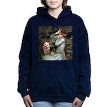 TILE-OPHELIA2-AussieTerrier.png Hooded Sweatshirt