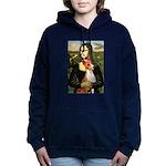 Mona Lisa-Basenji #1 Hooded Sweatshirt