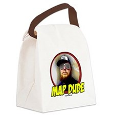 Map Dude Logo Canvas Lunch Bag