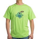 Bacteria Phagocytosis Green T-Shirt