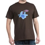 Bacteria Phagocytosis Dark T-Shirt