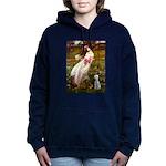 WINDFLOWERS-Bedlington1.png Hooded Sweatshirt