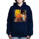 TILE-CAFE2-Bedlington1.png Hooded Sweatshirt