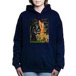 8x10-MidEve-BelgianShep1.png Hooded Sweatshirt