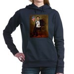 8x10-Lincoln-Bichon1.PNG Hooded Sweatshirt