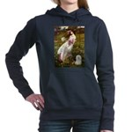 WINDFLOWERS-Bolognese2.png Hooded Sweatshirt