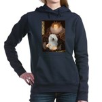 5.5x7.5-Queen-Bolognese.png Hooded Sweatshirt