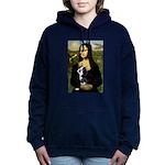 Boston Terrier - Mona Lisa Hooded Sweatshirt