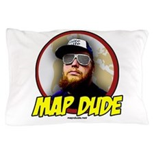 Map Dude Logo Pillow Case