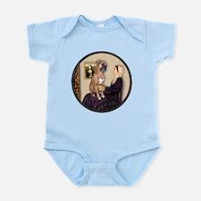 WMom - Boxer (D) Infant Bodysuit