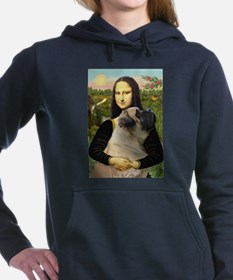 5.5x7.5-Mona-BMastiff7.PNG Hooded Sweatshirt