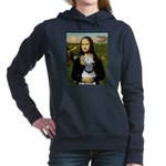 16x20c-Mona-BullTerrierPer.PNG Hooded Sweatshirt