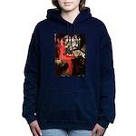 TILE-Lady-Cav-Blk-Tan.png Hooded Sweatshirt