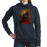 LINCOLN-Cockr-Blk.png Hooded Sweatshirt