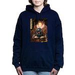 Cocker (black) - Queen.png Hooded Sweatshirt