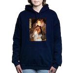 5.5x7.5-Queen-Collie1.png Hooded Sweatshirt