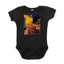 MP-Cafe-Dachs-Brwn1.png Baby Bodysuit