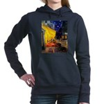 8x10-CAFE-Dachs-Blk3.png Hooded Sweatshirt
