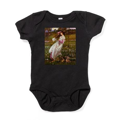 MPJF-Windflwrs-Dachs2.png Baby Bodysuit