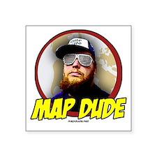 Map Dude Logo Sticker