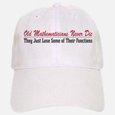 Old Mathematicians Baseball Baseball Cap
