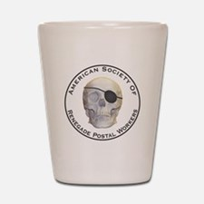 Renegade Postal Workers Shot Glass
