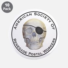 "Renegade Postal Workers 3.5"" Button (10 pack)"