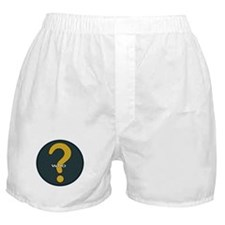 The question is WHO? Boxer Shorts
