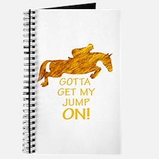 Horse Jumping Gotta Get My Jump Journal