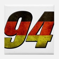 94 germany Tile Coaster