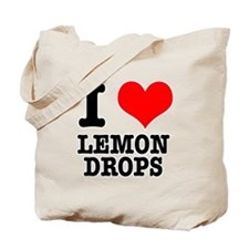 I Heart (Love) Lemon Drops Tote Bag