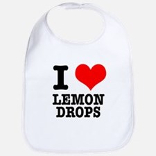 I Heart (Love) Lemon Drops Bib
