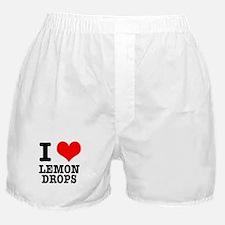 I Heart (Love) Lemon Drops Boxer Shorts