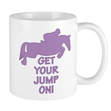 Horse Jumping Get Your Jump On Mug