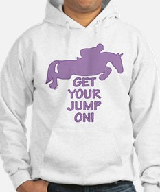 Horse Jumping Get Your Jump On Hoodie