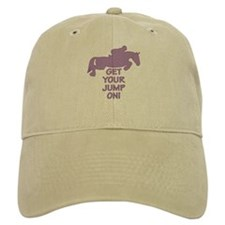 Horse Jumping Get Your Jump On Baseball Cap