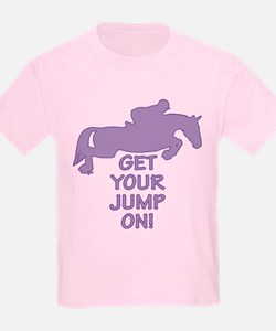 Horse Jumping Get Your Jump On T-Shirt