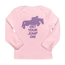 Horse Jumping Get Your Jump On Long Sleeve Infant