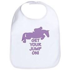 Horse Jumping Get Your Jump On Bib