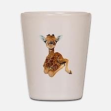 baby giraffe Shot Glass