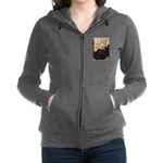 Dalmatian 1 - Whistlers Mother.tif Zip Hoodie