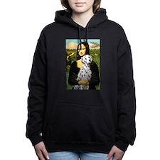 Dalmatian 1 - Mona Lisa.png Hooded Sweatshirt