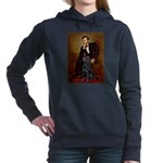Flat Coated Retriever 1 - Lincoln.png Hooded Sweat