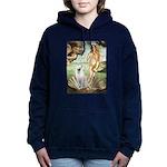 Venus - White German Shep Hooded Sweatshirt