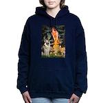 MIDEVE-GShep9.png Hooded Sweatshirt