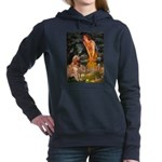 5.5x7.5-MidEve-GoldBanj.png Hooded Sweatshirt